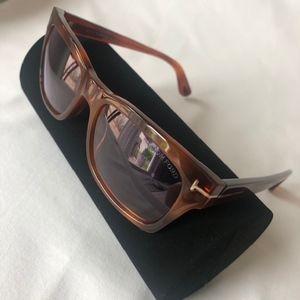 Tom Ford Rectangular Sunglasses TF494 Frederik 53Y